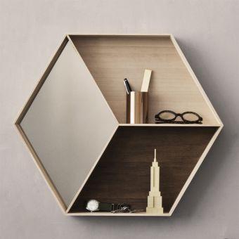 Ferm Living Spiegel Wall Wonder Maple 3122 Lunoa