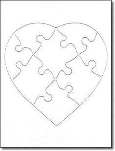 Puzzle Template 8 Pieces Urgup Kapook Co