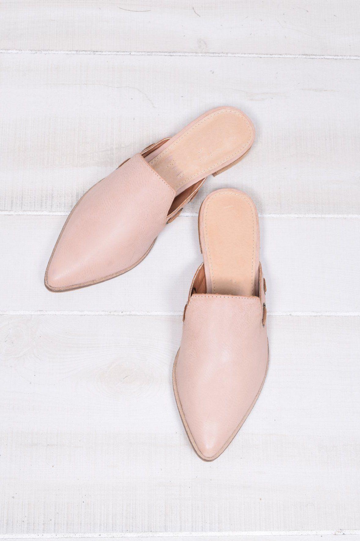 Women shoes, Mules shoes flat