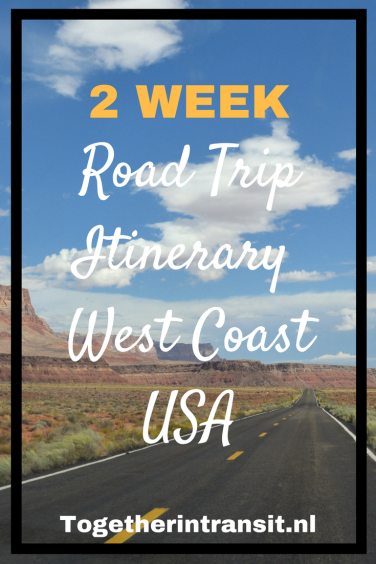 Road Trip Itinerary West Coast USA | Travel | Road trip usa