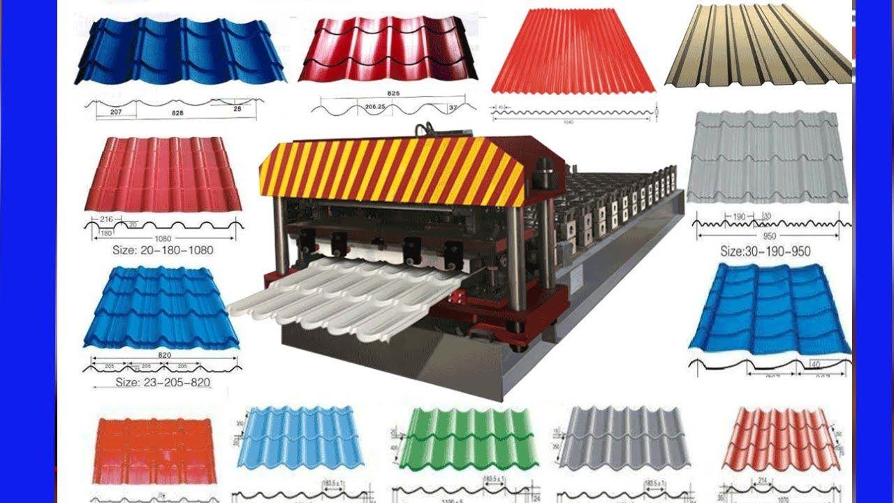 Sheet Metal Forming Machine Metal Roofing Machine Roof Tile Making Metal Roof Roofing Sheets Roofing