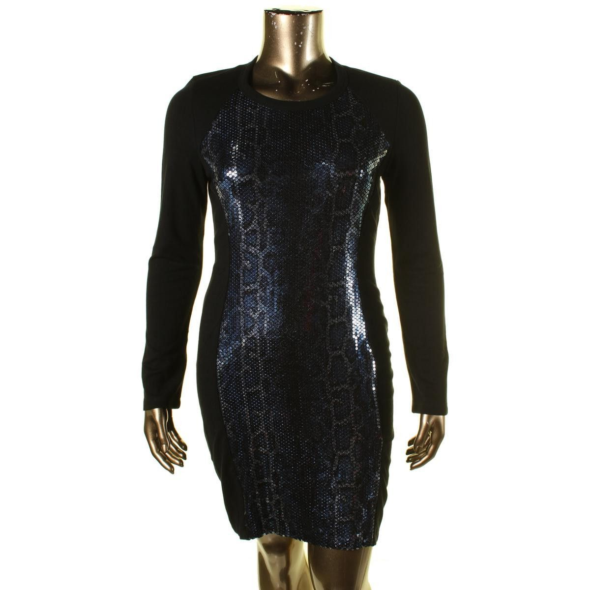 Karen kane womens sequined long sleeves cocktail dress products