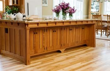 arts  u0026 crafts style kitchen   island counter without chairs   kitchen   pinterest   kitchens craftsman and cherry kitchen arts  u0026 crafts style kitchen   island counter without chairs      rh   pinterest com