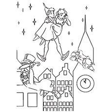 peter pan coloring pages free printables