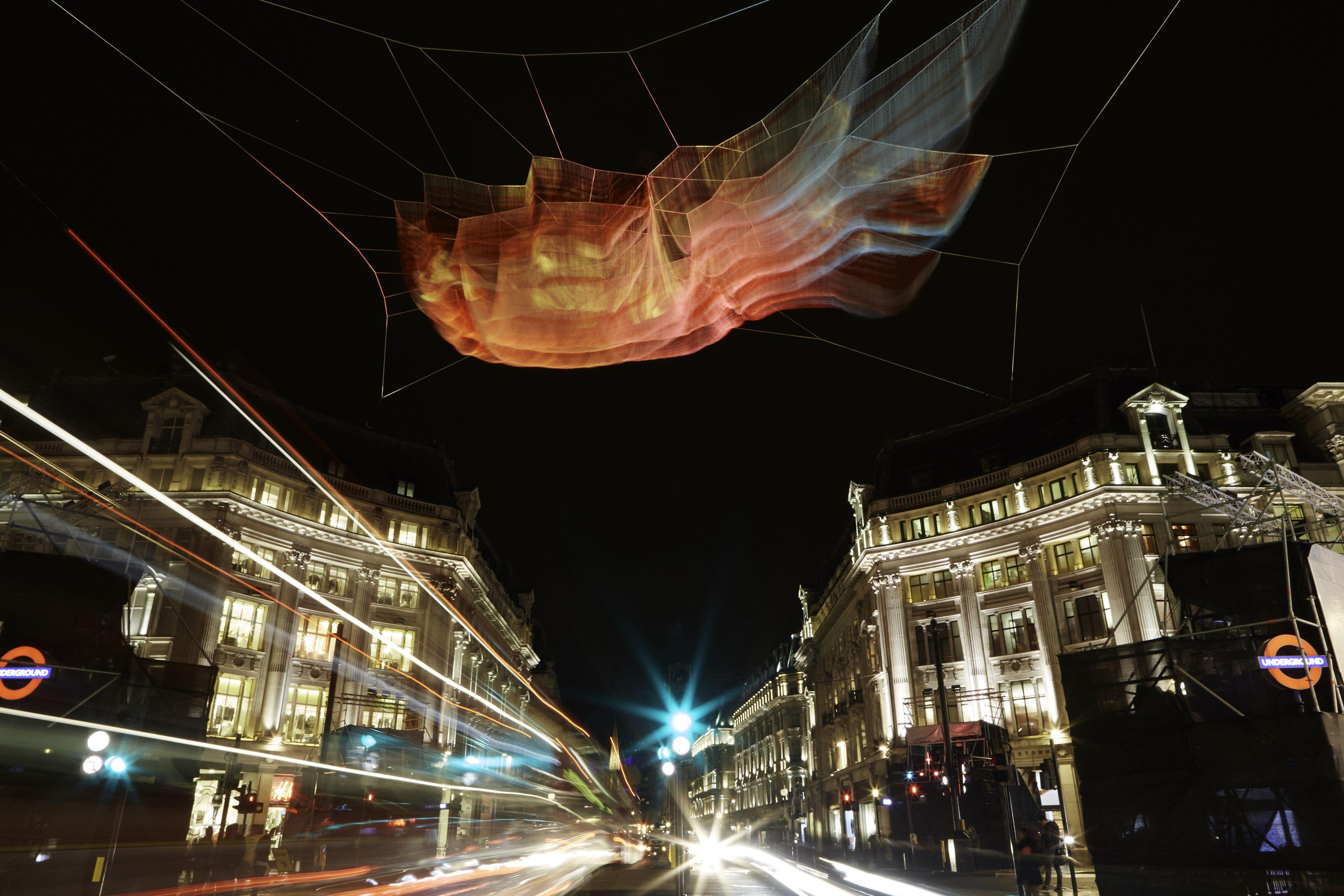 RegentStreetW1 is dazzling from visitlondon s Lumiere London