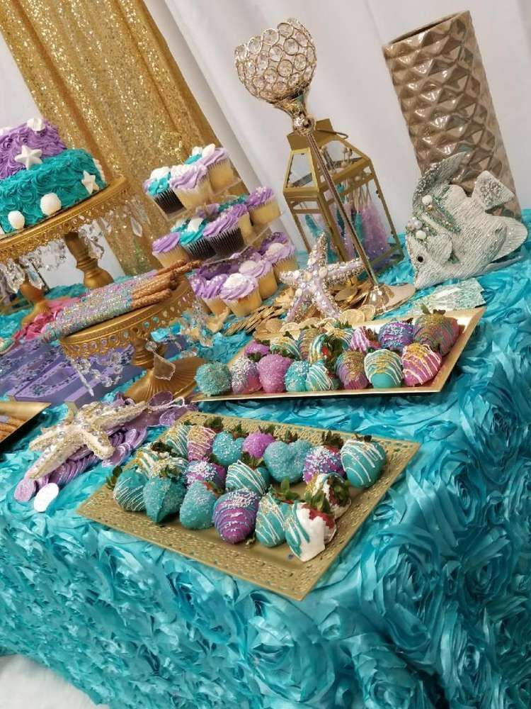 Under the Sea Baby Shower Party Ideas Sea baby shower