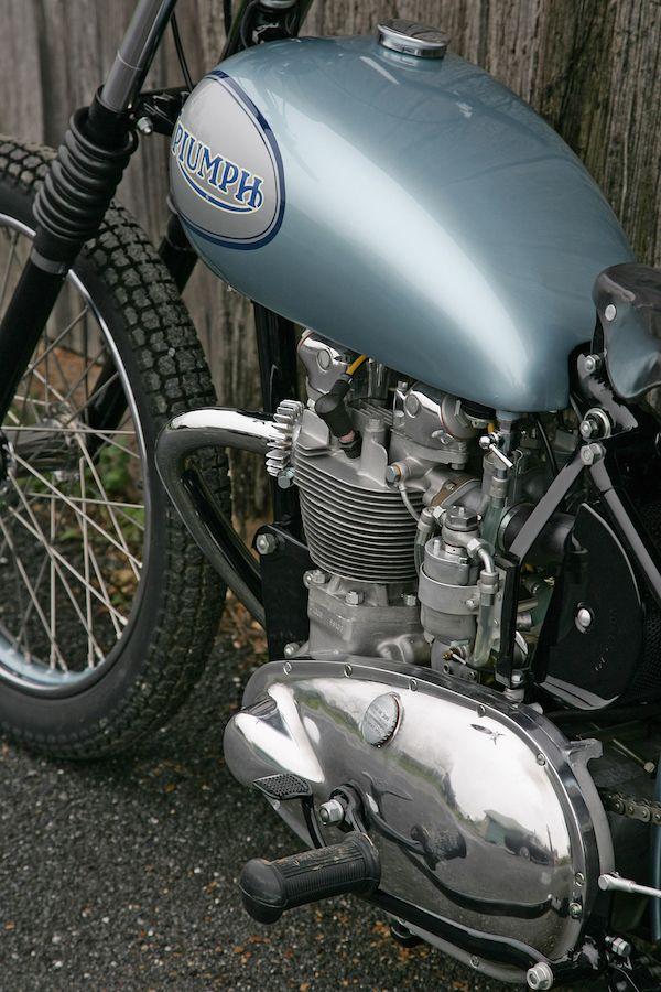 1955 T100/R factory flattracker Australian Motorcycle
