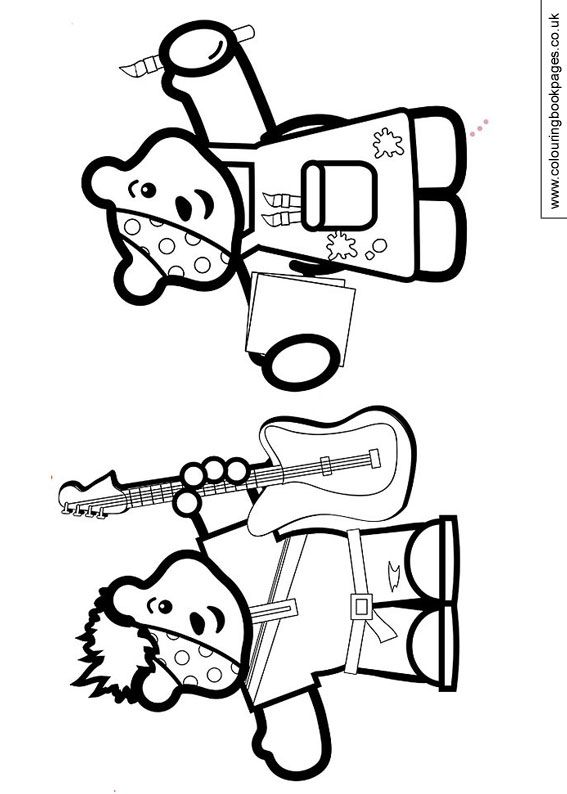 I need coloring pages ~ Rock and Roll, and Pudsey crafts : Children In Need ...