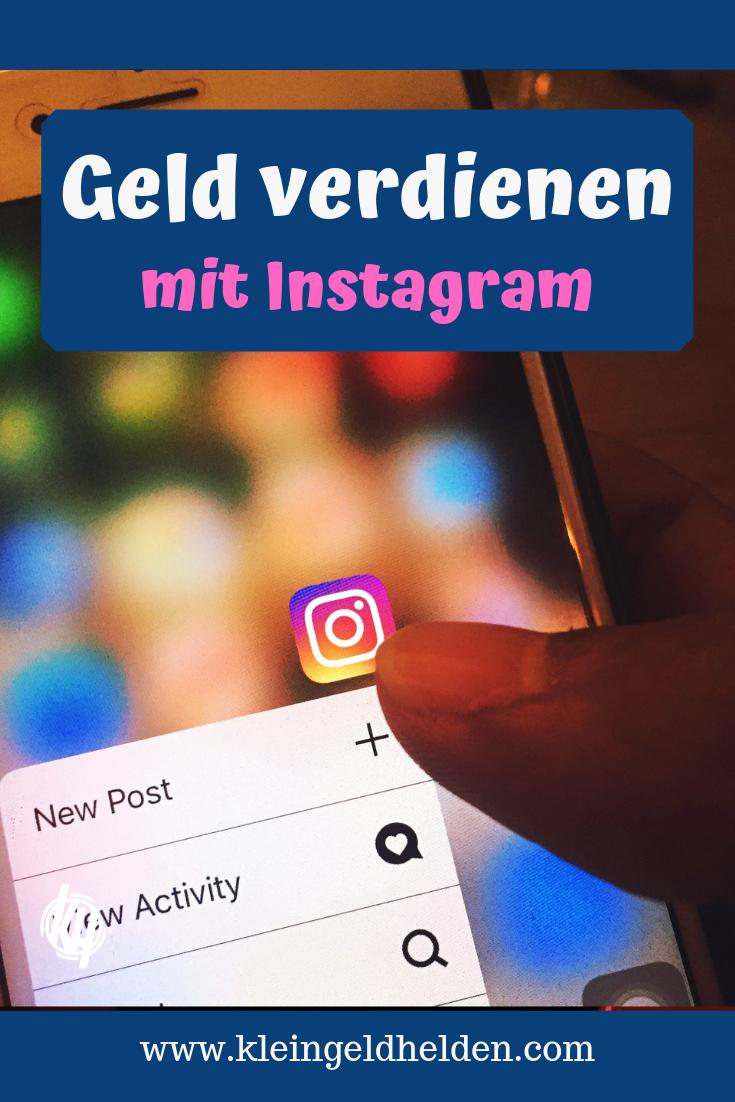 Mit Instagram Geld verdienen - So klappt´s   Blog geld ...