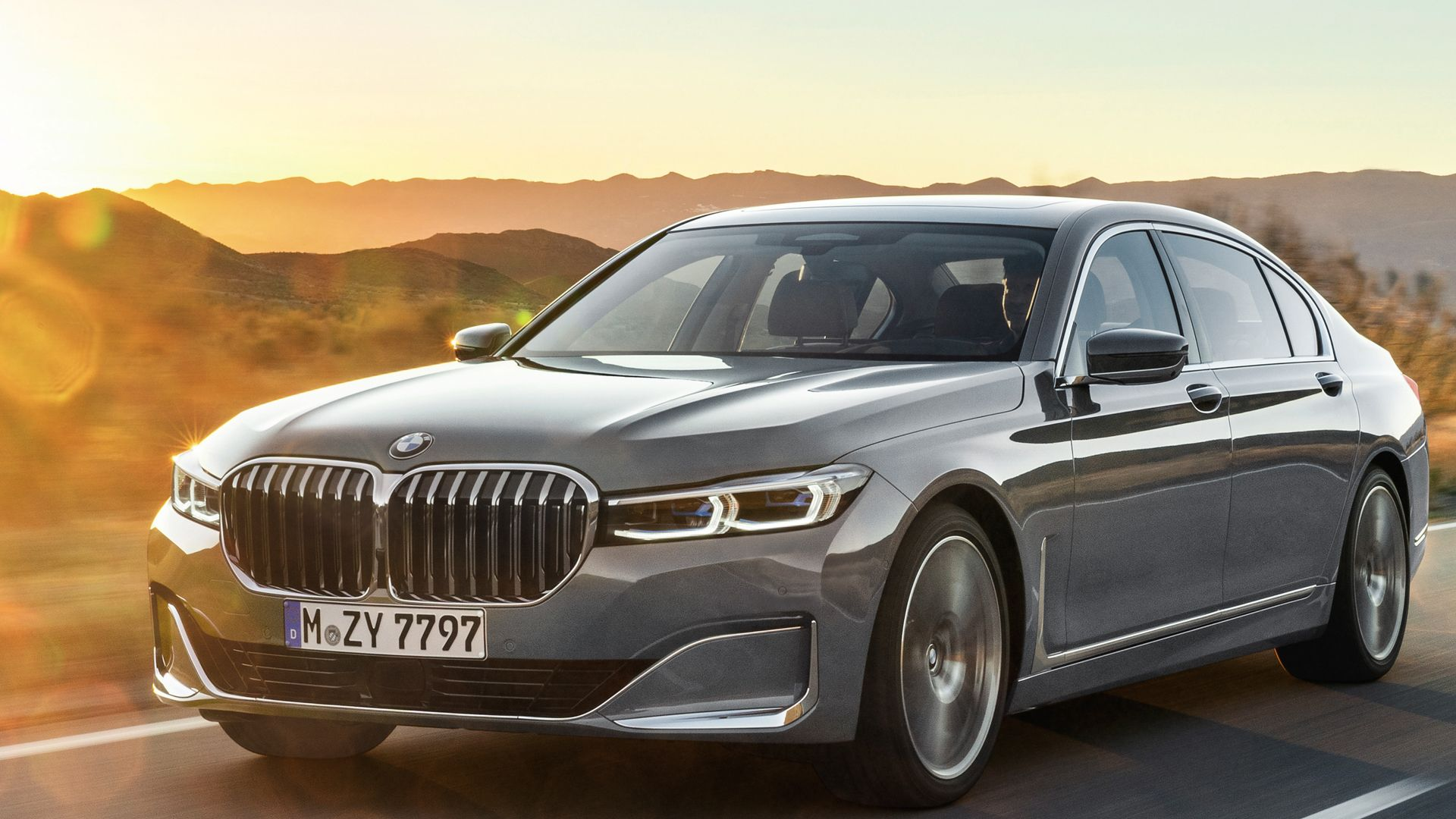 Photo Comparison Before And After Bmw 7 Series Lci With