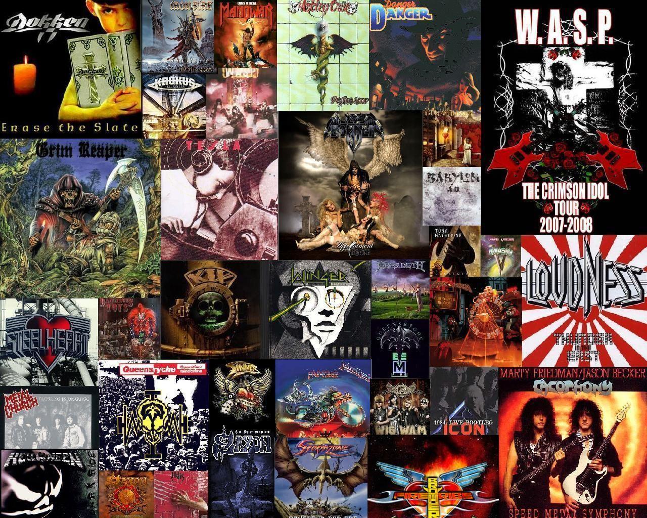 Heavy Metal Computer Wallpapers Desktop Backgrounds 1280x1024 Id 179951 Band Wallpapers Music Wallpaper Heavy Metal