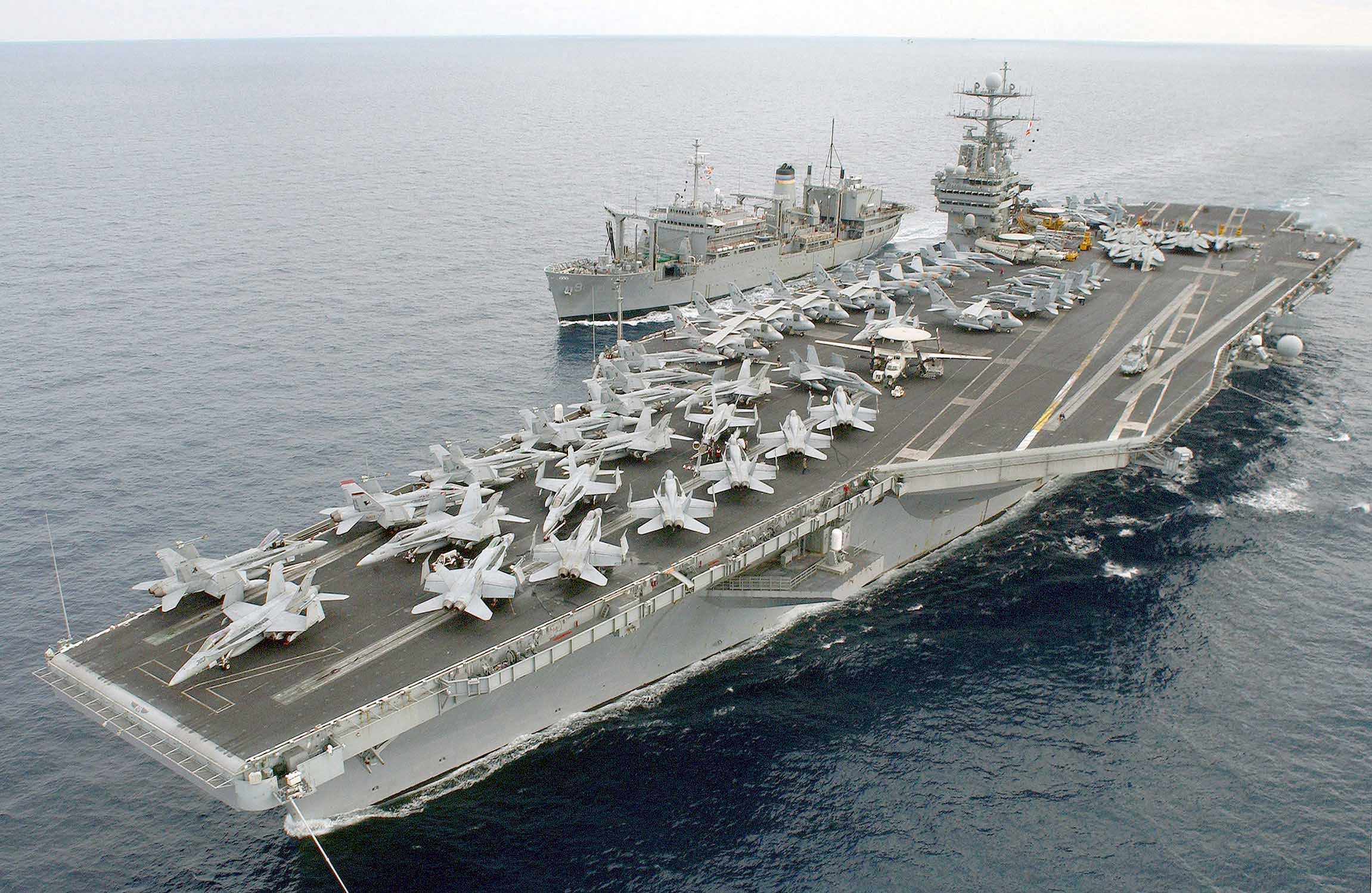 USS Harry S. Truman (CVN-75) - Nimitz class Aircraft Carrier (USA)