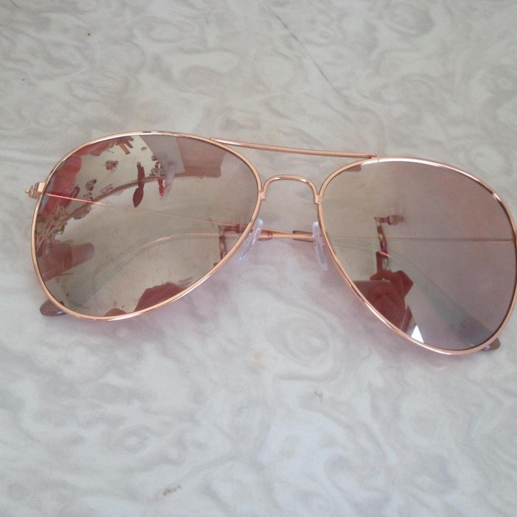 bb313a61e09 Rose Gold Sunglasses - Primark £2