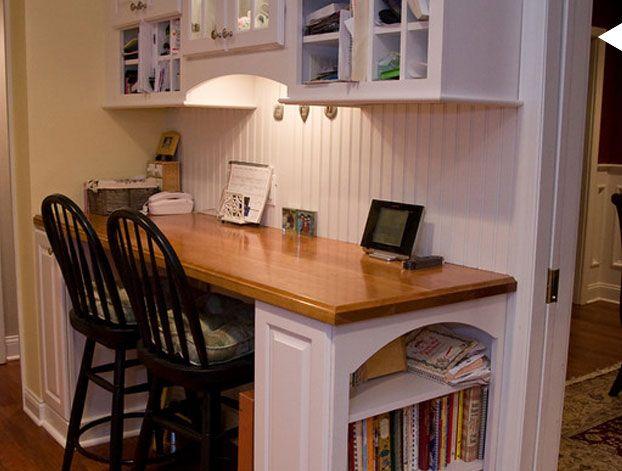 Kitchen Office Area Desks Kitchen desks and Kitchens