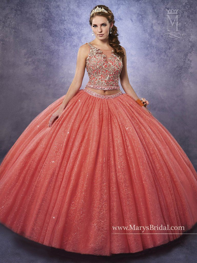 Mary\'s Bridal Princess Collection Quinceanera Dress Style 4Q482 ...