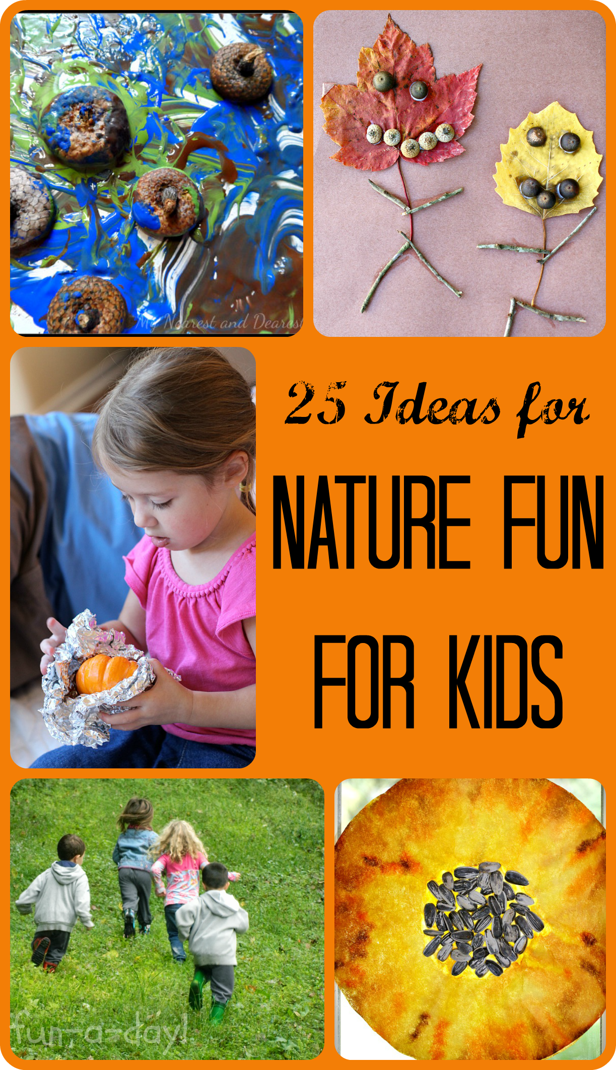 Nature Fun For Kids From Share It Saturday