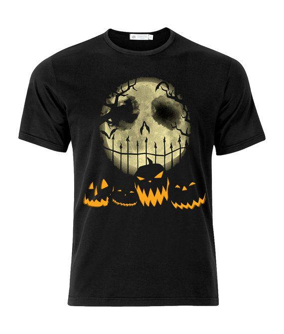 Halloween Happy Halloween Skeleton/Pumpkins Brand New Unique T-Shirt