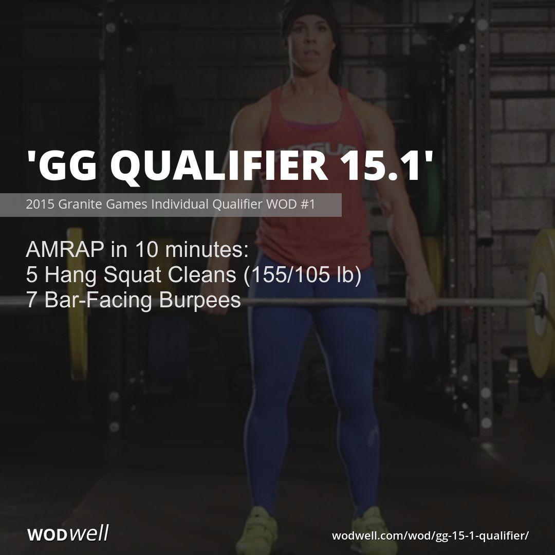 Gg Qualifier 15 1 Workout Crossfit Wod Wodwell Wod Workout Wod Crossfit Workouts