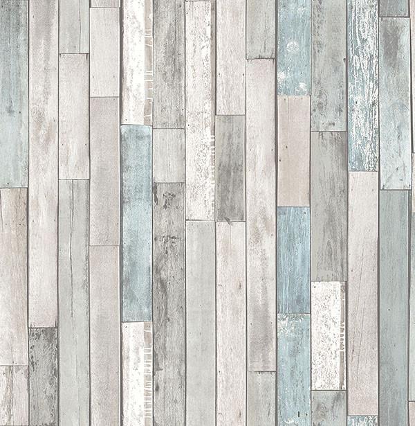 Barn Board Grey Thin Plank Wallpaper Wood Plank Wallpaper Faux Wood Wall Wood Wallpaper
