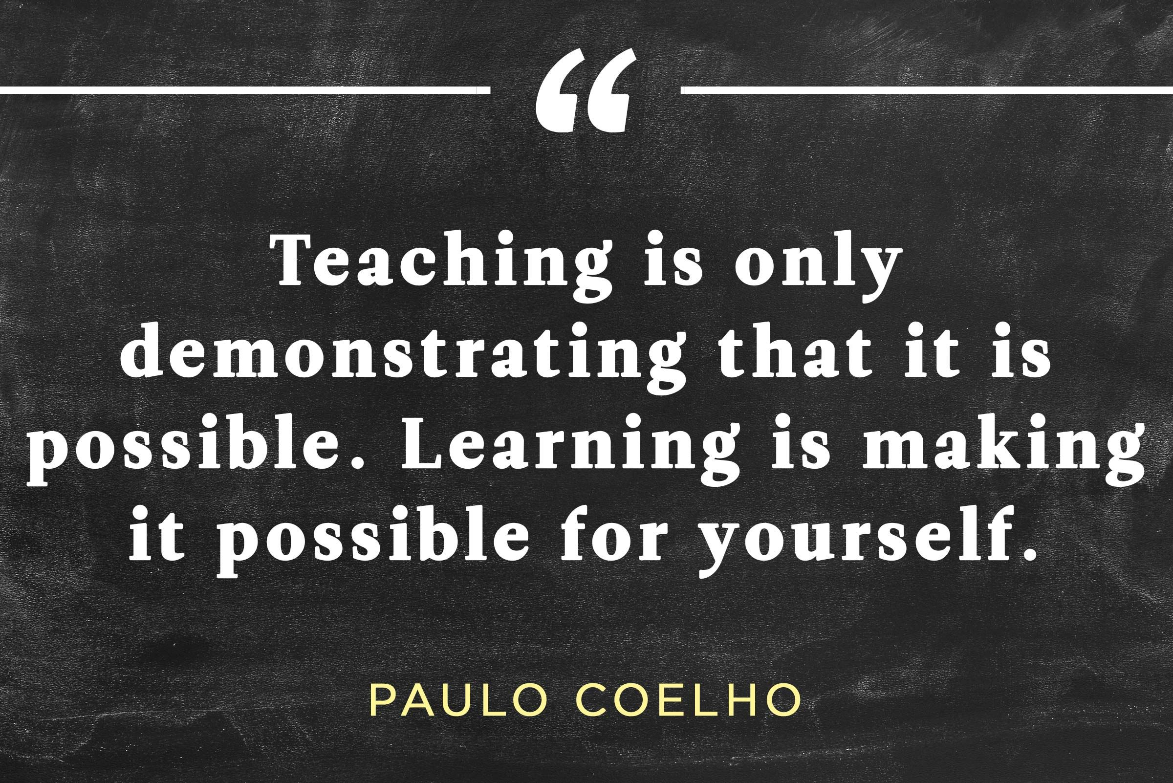 The 34 Most Inspirational Quotes About Teaching | Teacher quotes ...