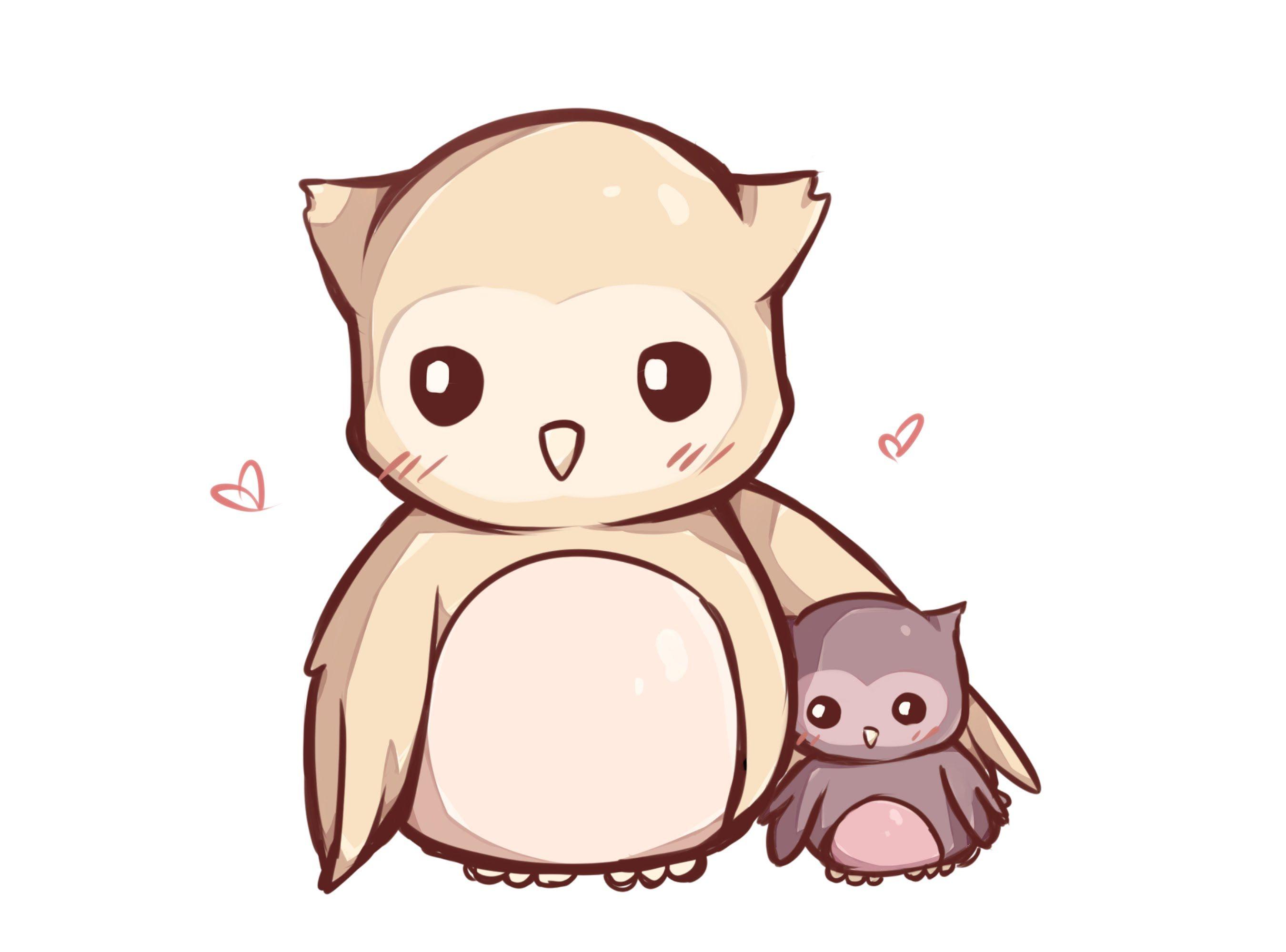 Speed Paint kawaii owl YouTube Owls drawing, Kawaii