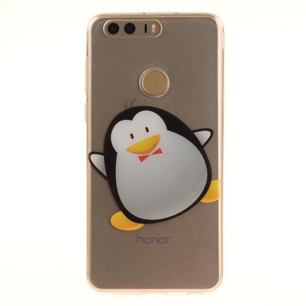 coque huawei y6 pro 2017 pingouin