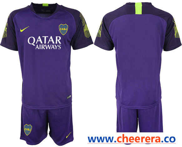 brand new 56fe5 ba864 2019-20 Boca Juniors Purple Goalkeeper Soccer Jersey ...