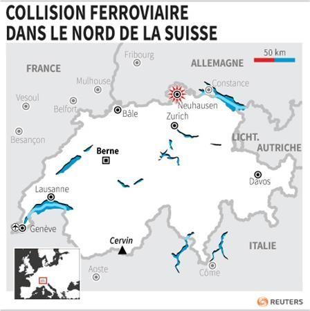 Dix-sept blessés dans la collision de deux trains en Suisse - http://www.andlil.com/dix-sept-blesses-dans-la-collision-de-deux-trains-en-suisse-75978.html