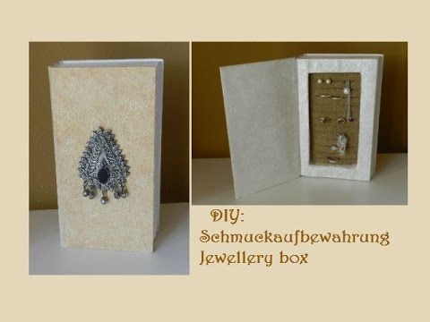 DIY: Jewellery box /Schmuckaufbewahrung