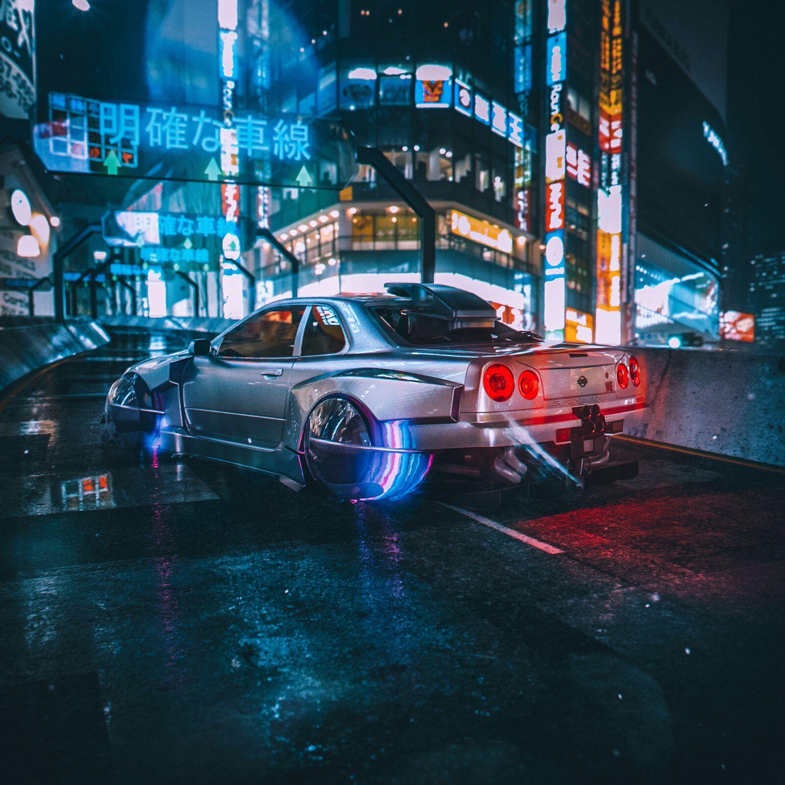 2050 By Khyzyl Saleem Futuristic Cars Art Cars Cyberpunk