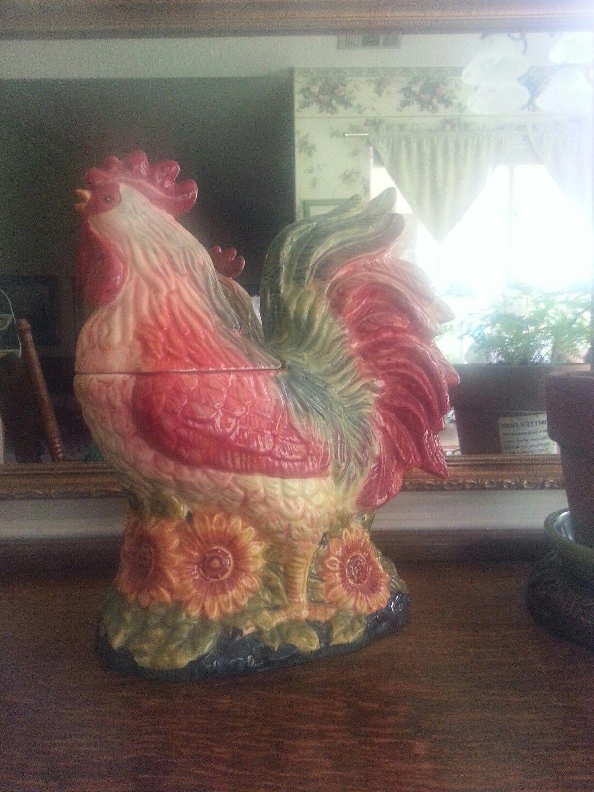 Certified Susan Winget Rooster cookie jar & Certified Susan Winget Rooster cookie jar | My pieces | Pinterest ...