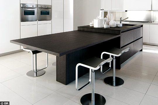 une cuisine avec lot central cuisine avec ilot centrale cuisine avec ilot et ilot central. Black Bedroom Furniture Sets. Home Design Ideas