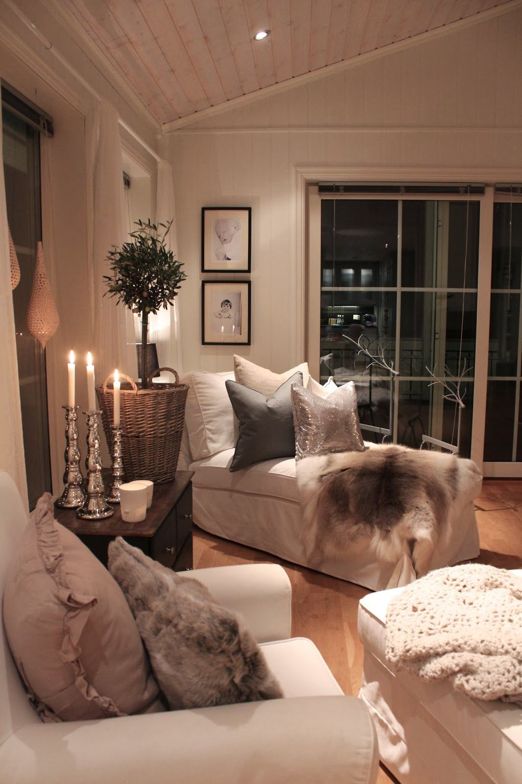 Cozy Living Room: Lindevegen: DIY-silje
