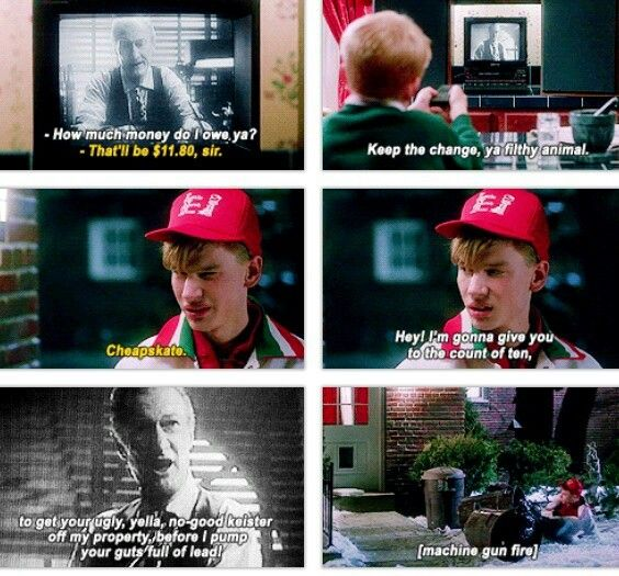 Funny Home Alone Quotes: Home Alone Movie, Christmas