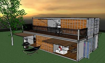 Container by laurent robyns design 3d warehouse for Sweet home 3d mobili