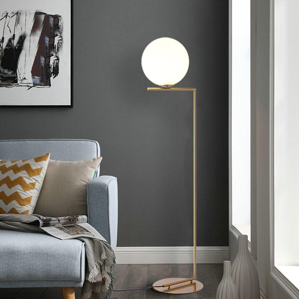 220v 110v Nordic Design Post Modern Gold White Metal LED ...