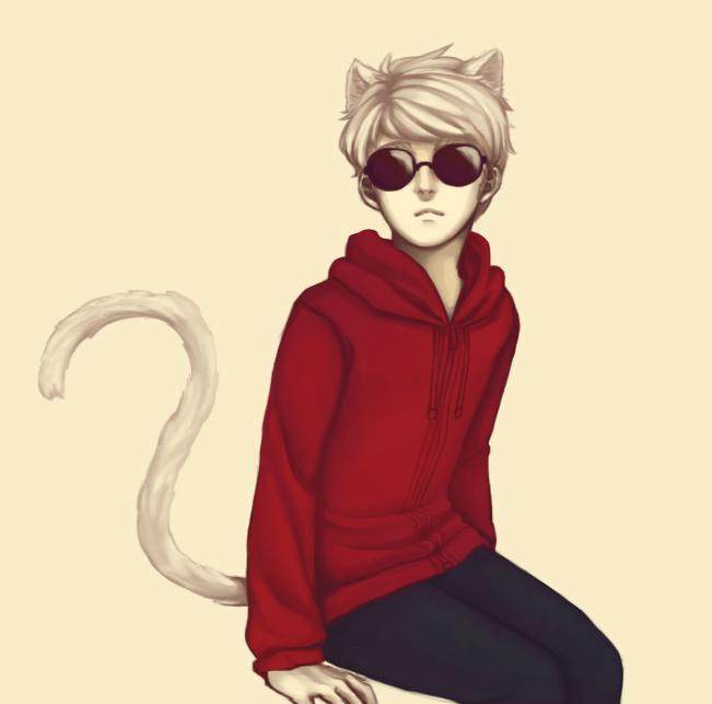 Livestream thingy - Kitty Dave by PandaleonSaa