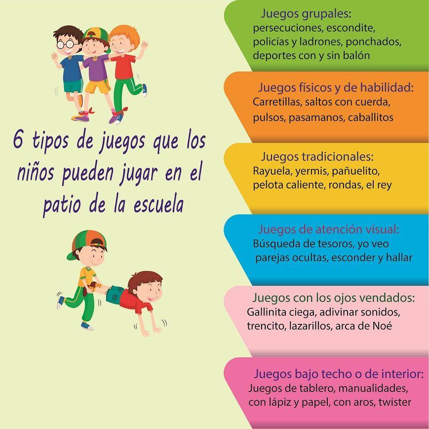 6 Tipos De Juegos Para El Patio De La Escuela Juegos De Patio