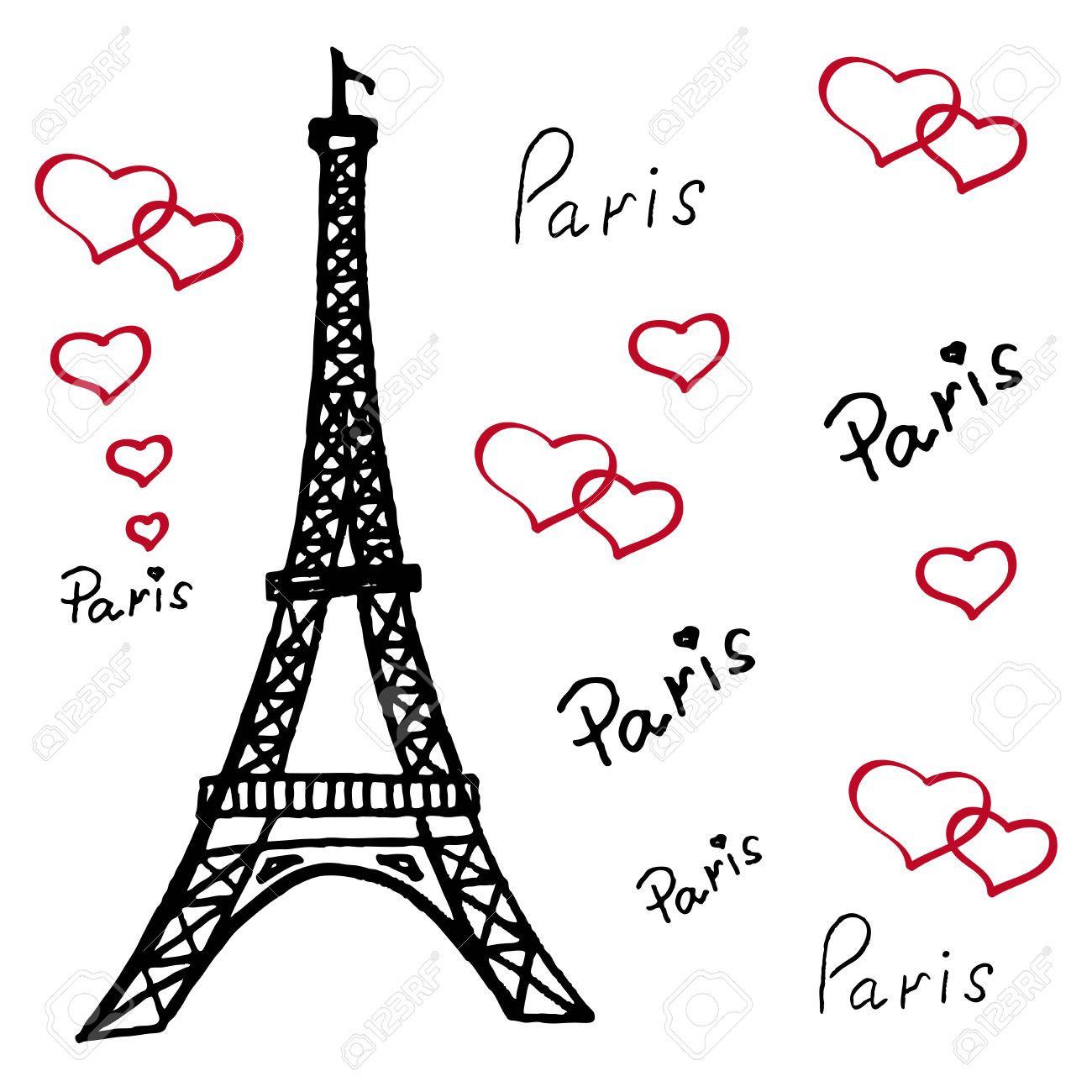 Resultado De Imagen Para Dibujos De Torre Eiffel