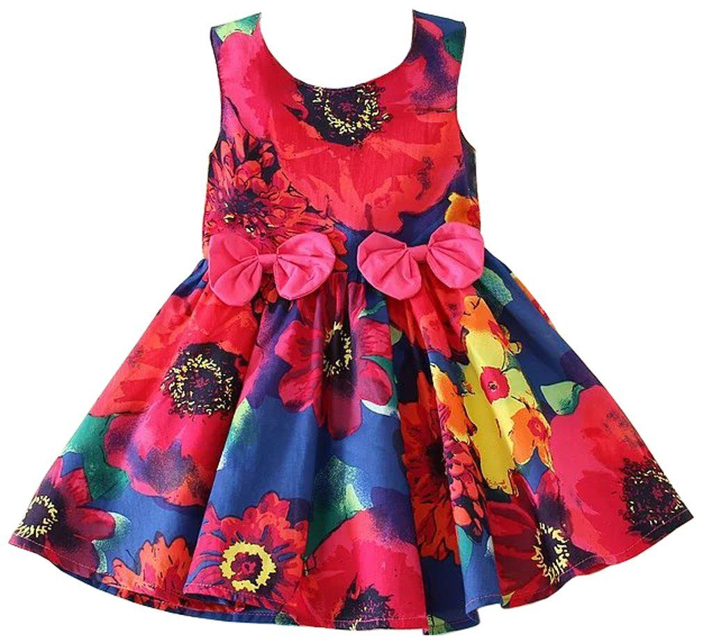 Yiyipig Little Girl S Multicolour Sleeveless Cotton Flower Printed Princess Dress Dflower 5t 3 4y Package Inc Dresses Summer Party Dress Casual Wedding Dress [ 923 x 1010 Pixel ]