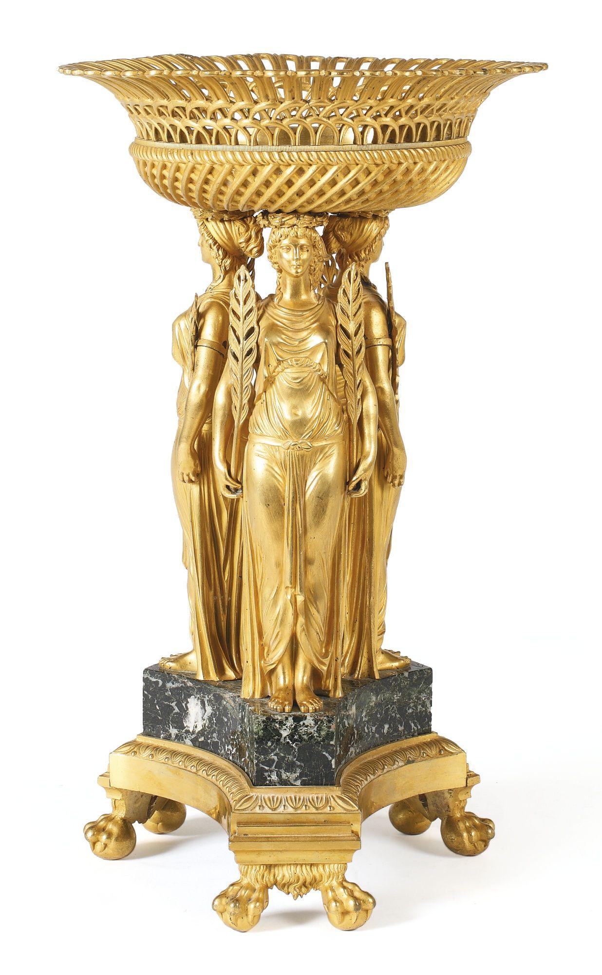 An Empire ormolu centerpiece circa 1810 Decor, Art decor