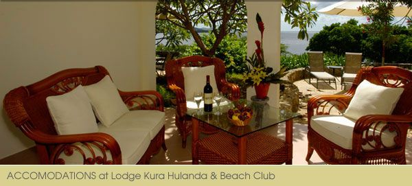 Ocean Front 2 Bedroom Suites At Lodge Kura Hulanda And Beach Club Two Bedroom Suites 2 Bedroom Suites Table Decorations