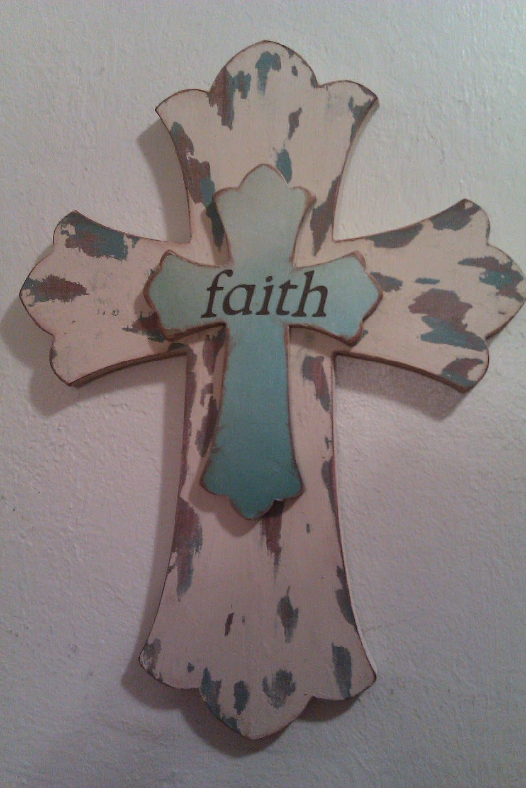 vaseline distressed wood cross and e happy spot how to distress wood painted wooden. Black Bedroom Furniture Sets. Home Design Ideas