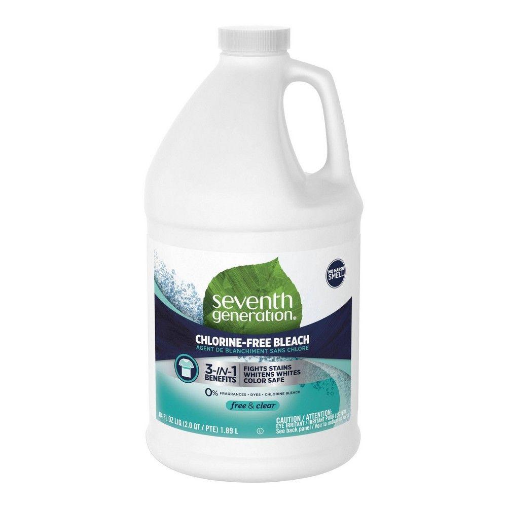 Seventh Generation Chlorine Free Bleach 64 Fl Oz In 2020