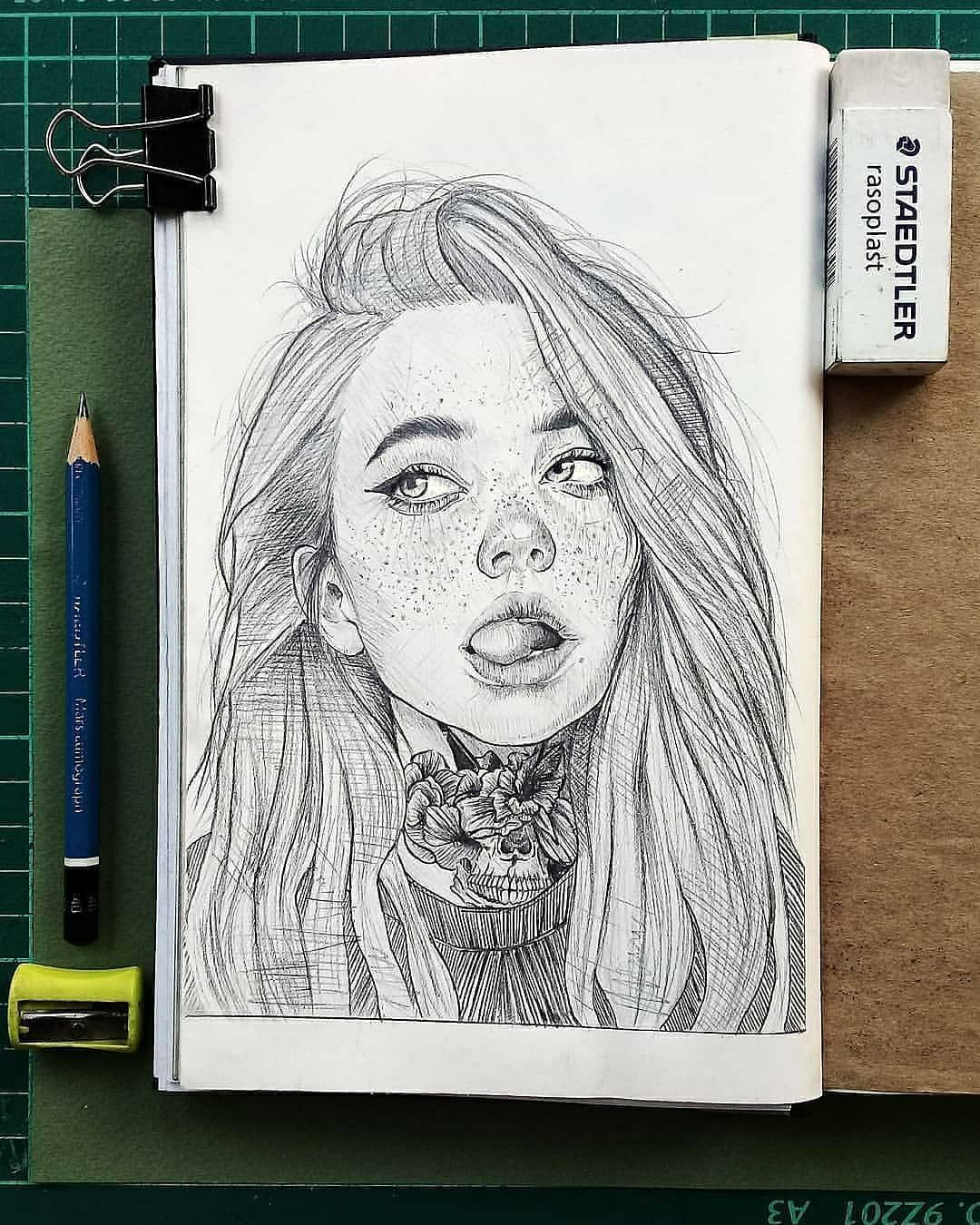 "ART | WORLD of EXPRESSION 🎨 on Instagram: ""What do you think of these pencil sketches? 🙂 Choose your favorite drawing! Artist: @herumesus _____________________ ▪ 👉Follow…"""