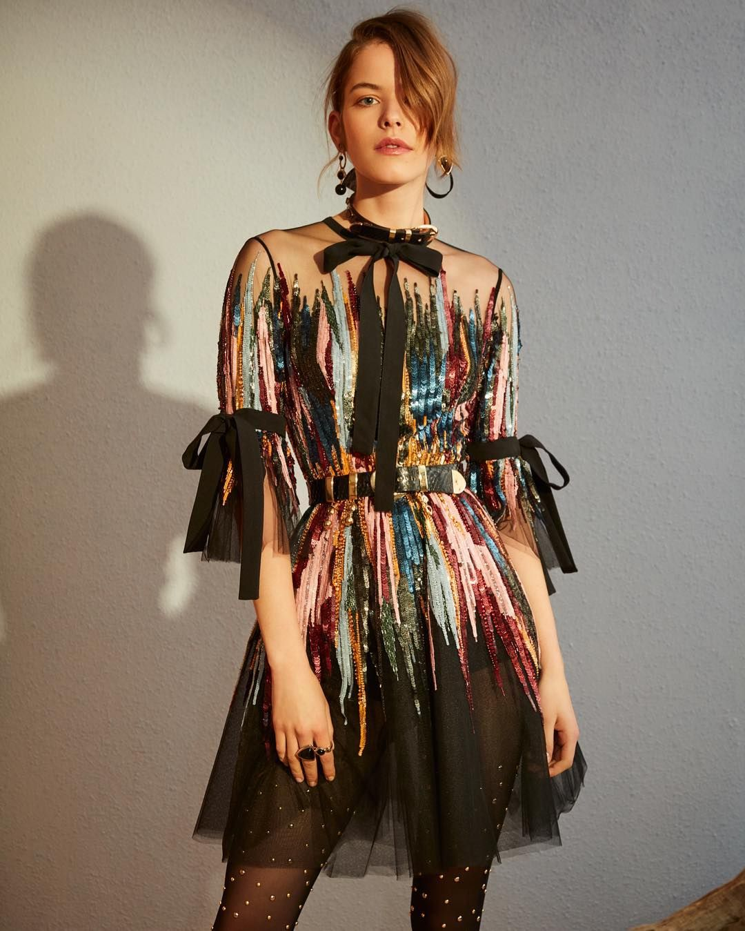 cc27d20f056f Sunset hues | ELIE SAAB Pre-Fall 2018 #WestboundDetour | Fashion in ...