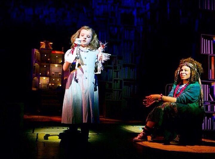 Milly Shapiro In Matilda The Musical Broadway