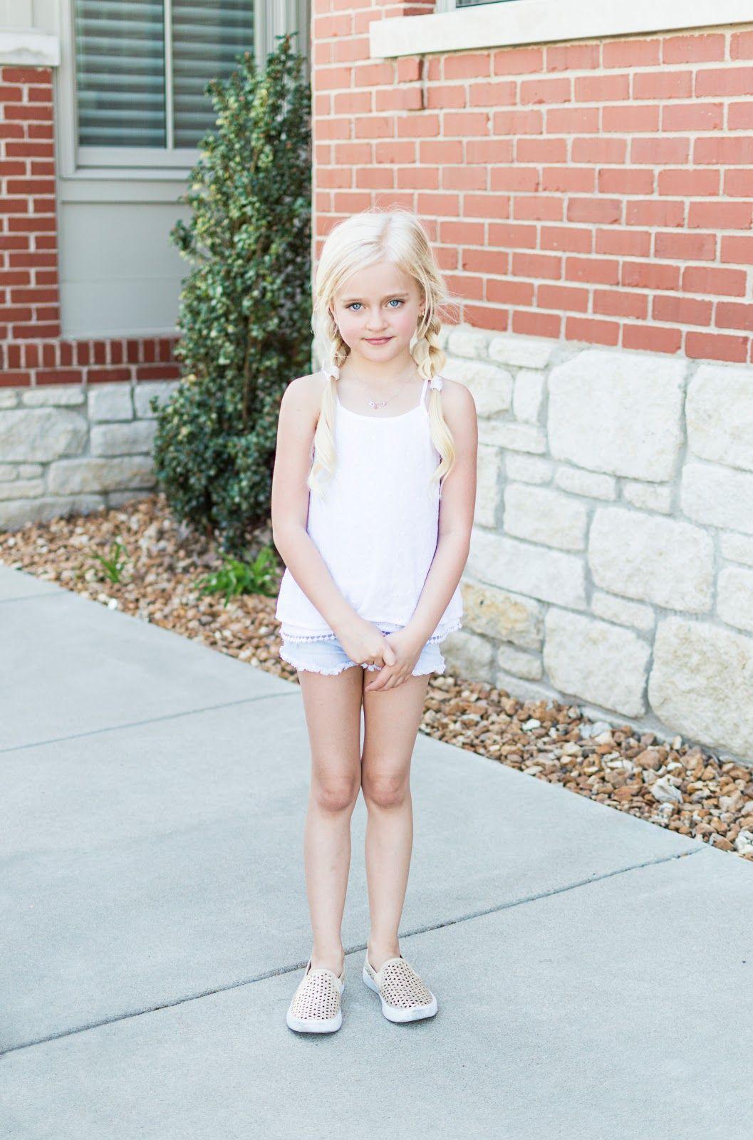 Daphnie Pearl This Little Blonde And Her Mom Lifestyle Kids N Bab Skirt Blue Ruffle Hem Fashion Design Model Life