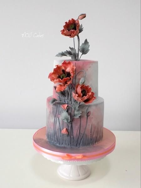 Poppies By Moli Cakes Cakes Amp Cake Decorating Daily