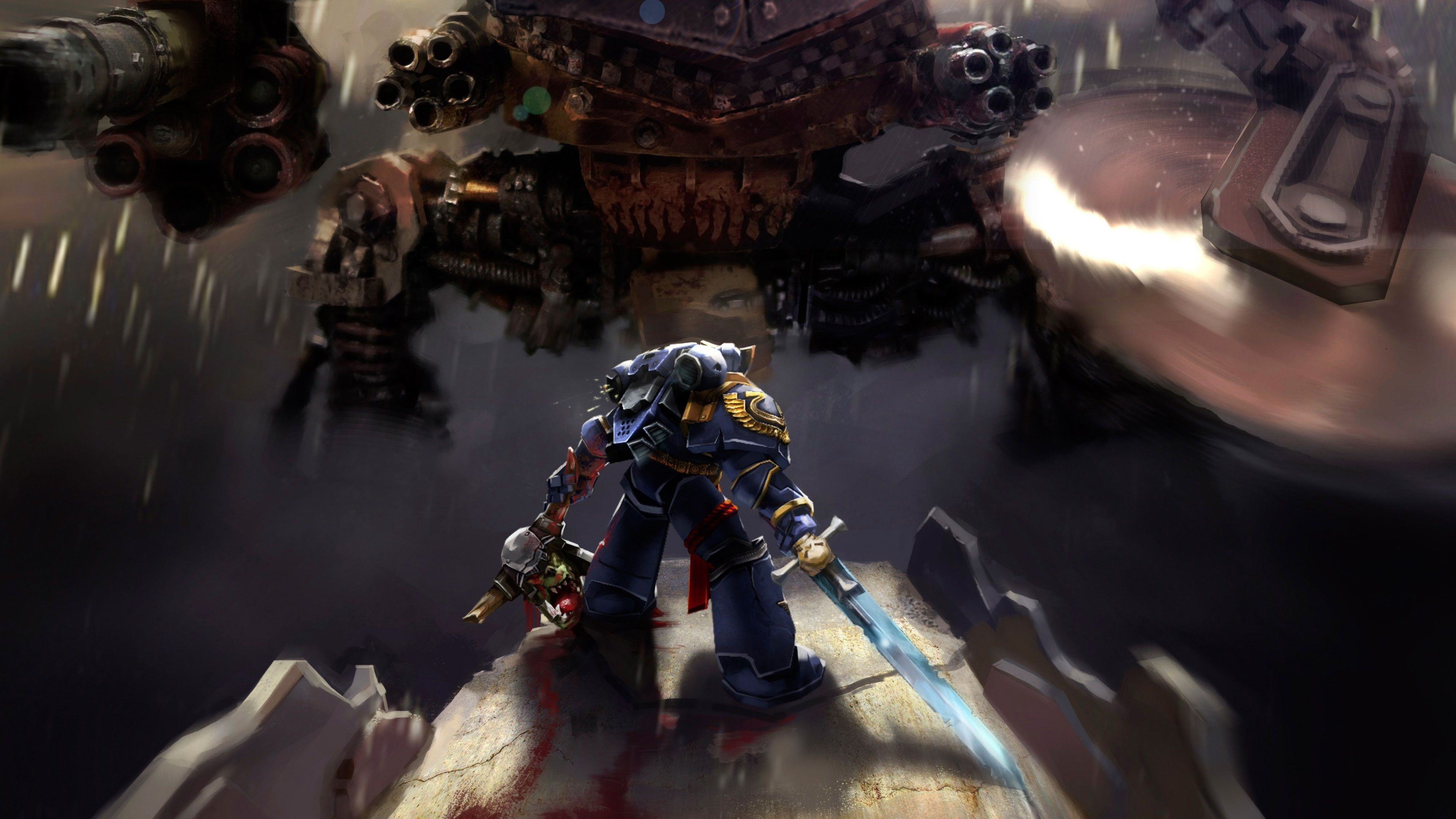 3840x2160 Warhammer 40k Space Marine 4k High Resolution Widescreen Wallpaper Space Marine Widescreen Wallpaper Cool Wallpaper